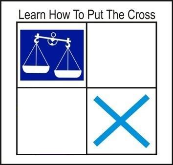 learn how to put the cross
